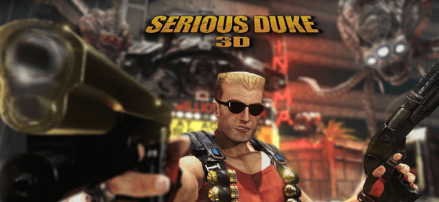 Install and play Serious Duke 3D