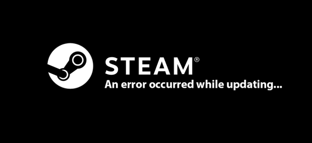 Steam an error occurred while updating